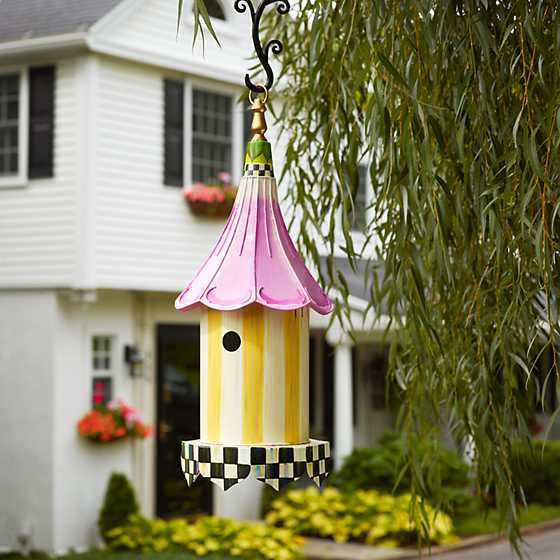 Mackenzie Childs Morning Glory Birdhouse