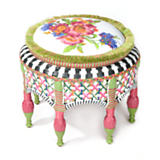 Flower Market Outdoor Ottoman