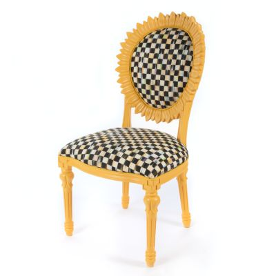 Sunflower Outdoor Chair - Yellow
