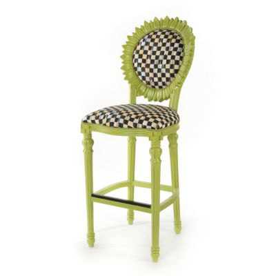 Sunflower Outdoor Bar Stool - Chartreuse