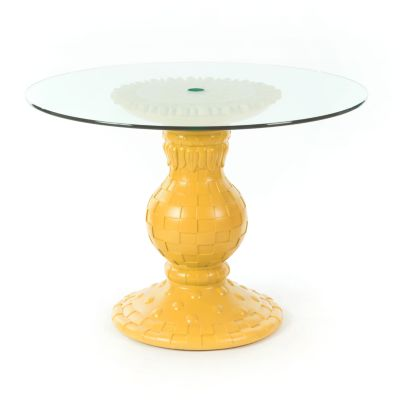 Sunflower Outdoor Table - Yellow