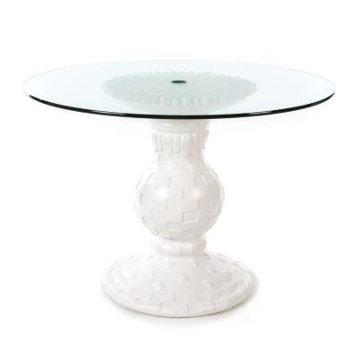 Sunflower Outdoor Table - White