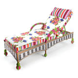 Flower Market Outdoor Chaise