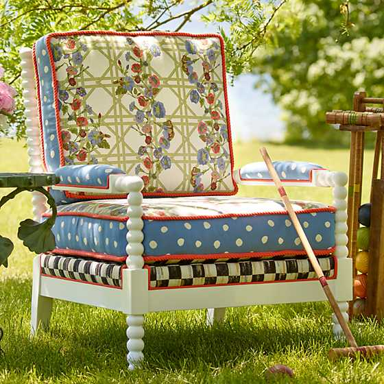 Morning Glory Spindle Outdoor Chair