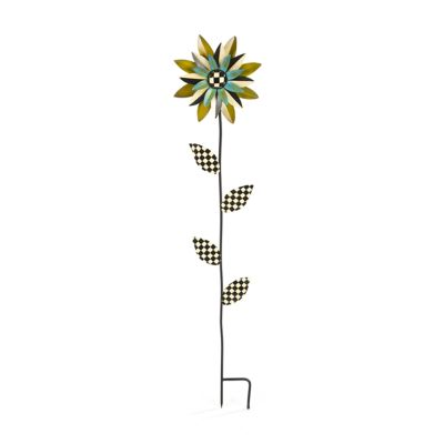 Flower Stake - Turquoise
