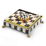 Courtly Check Cocktail Napkin Holder Set