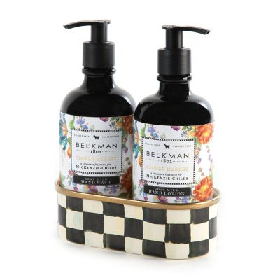 Flower Market Hand Soap & Lotion Set