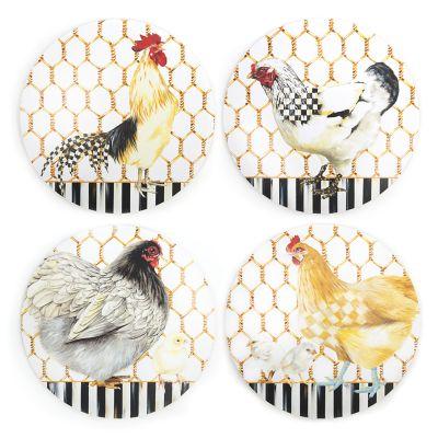 Bowls & Plates Mackenzie-childs Chicken Plate