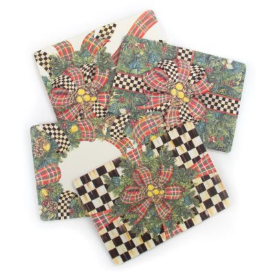 Evergreen Cork Back Placemats - Set of 4
