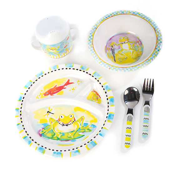 Mackenzie Childs Toddler S Dinnerware Set Frog
