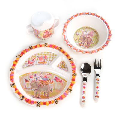 Toddler's Dinnerware Set - Animal Parade