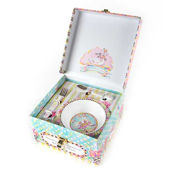 Toddler's Dinnerware Set - Bella Ballerina