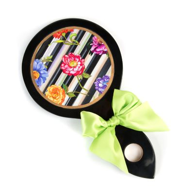 Cutting Garden Hand Mirror - Black