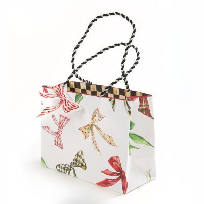 Holiday Bows Gift Bag - Small