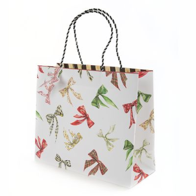 Holiday Bows Gift Bag - Medium
