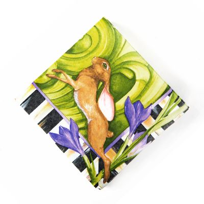 Spring Hare Paper Napkins - Cocktail