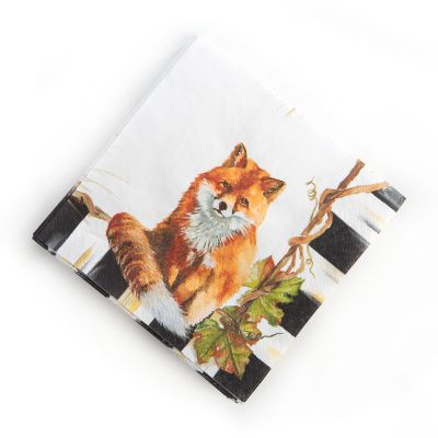 Fox Paper Napkins - Cocktail