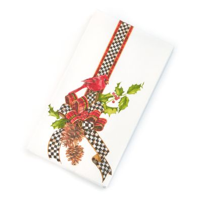 Christmas Cardinal Paper Napkins - Guest