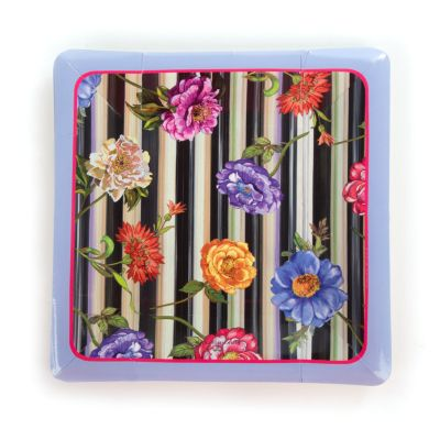 Cutting Garden Paper Plates - Salad/Dessert
