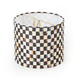 Courtly Check Drum Shade - Chandelier