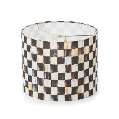 Courtly Check Drum Shade - Small