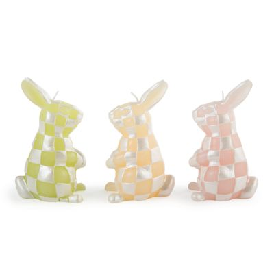 Rabbit Candles - Set of 3