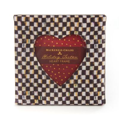 Courtly Check Heart Frame