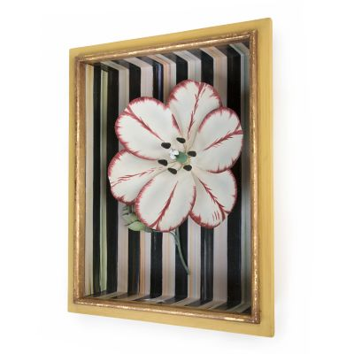 Tulip Shadow Box - Red