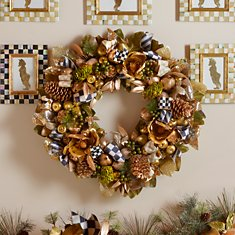 Wreaths, Trim, & Trees