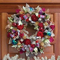 Wreaths, Trim, & Trees