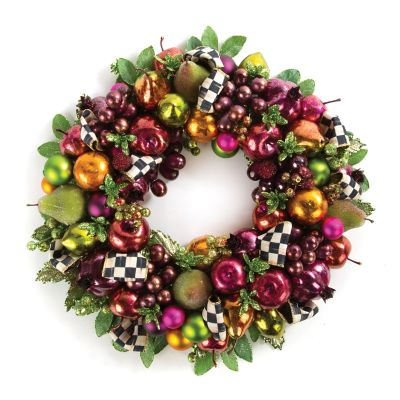Sugarplum Wreath - Small