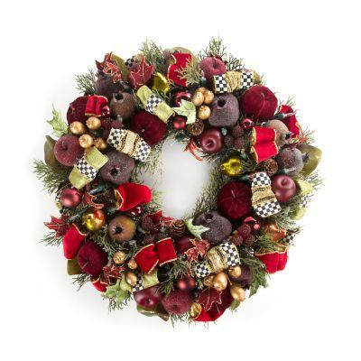 Yuletide Manor Wreath - Small