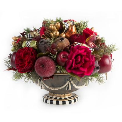 Yuletide Manor Centerpiece