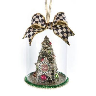 Yuletide Manor Cloche Ornament