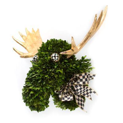 Moose Topiary