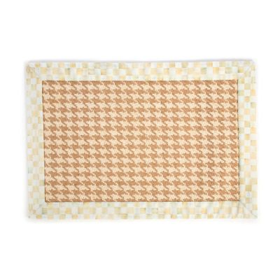 Parchment Houndstooth Jute/Sisal Rug - 2' x 3'