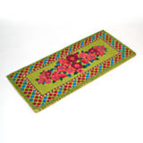 Blooming Double Door Entrance Mat