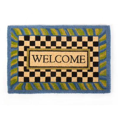 Periwinkle Welcome Mat