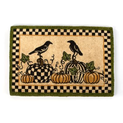 Talking Crows Entrance Mat