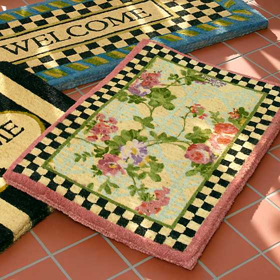 Morning Glory Entrance Mat