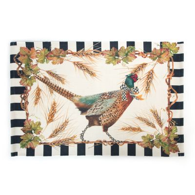 Pheasant Scatter Rug
