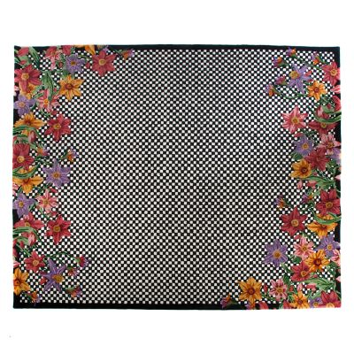 Courtly Floret Rug - 8' x 10'