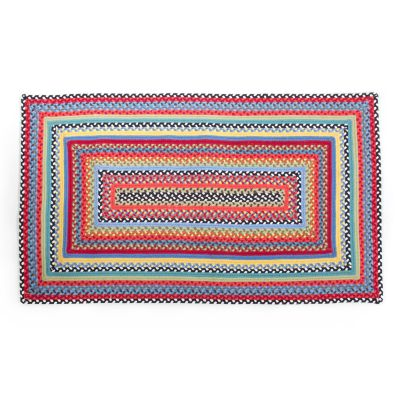 Crayon Braided Rug - 3' x 5' - Red