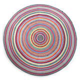 Crayon Braided Rug - 6' Round