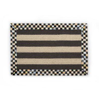 Stripe Wool/Sisal Rug - 2' x 3'