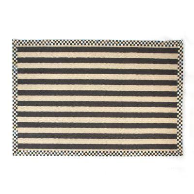 Stripe Wool/Sisal Rug - 5' x 8'