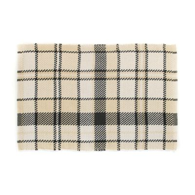 Courtyard Plaid Outdoor Rug - 2' x 3'