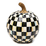 Courtly Check Pumpkin - Small