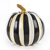 Courtly Stripe Pumpkin - Medium