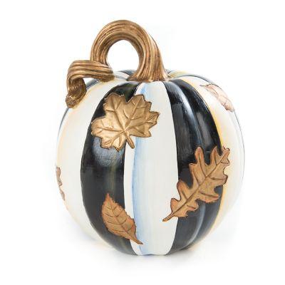 Falling Leaves Pumpkin - Small